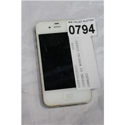 IPPHONE S4 WORKING SCREEN DAMAGED