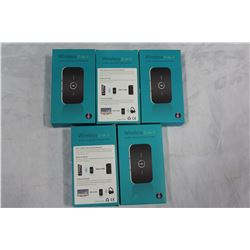 LOT OF BLUETOOTH AUDIO RECEIVER TRANSMITTERS