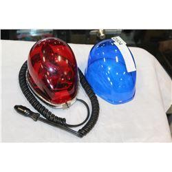 REB OR BLUE AUTO CAUTION LIGHT