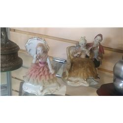TWO VINTAGE FIGURES