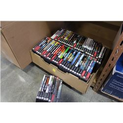 LARGE TRAY OF PS2 GAMES