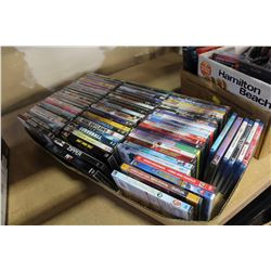 LARGE TRAY OF NEW DVDS