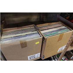 2 BOXES OF RECORDS