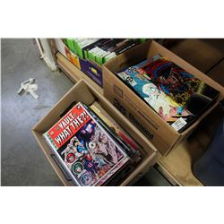 TWO BOXES OF COLLECTIBLE COMICS