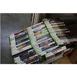 LARGE TRAY OF XBOX 360 GAMES