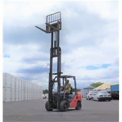 Toyota 8FDU30 Forklift, Diesel, Side Shift, 6000 lb Capacity, 1581 Hours, Serial 30913