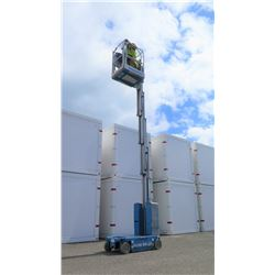 2014 Genie GR-20 Runabout Vertical Drivable Man Lift, 148 Hours