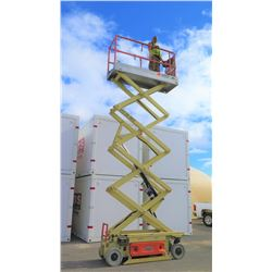 JLG 2630ES Aerial Scissorlift, 26-Foot Working Height, 249 Hours