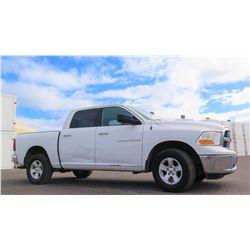 2011 Dodge RAM 1500 Truck, 4.7L V8 Engine, 4X4 Quad Cab 95,195 Miles, Lic. 451TTR