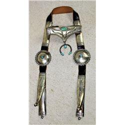 Navajo Silver Bridle