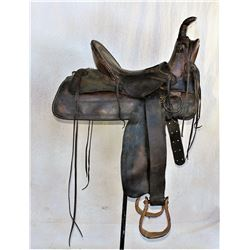 J.W. Wilkerson Slick fork Saddle