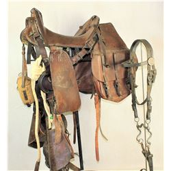 U.S. Cavalry Saddle and Gear