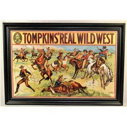 Thompkins Wild West Poster