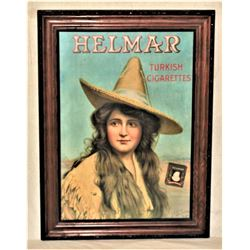 Helmar Cigar Advertising Poster