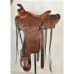 Miller Tooled Saddle