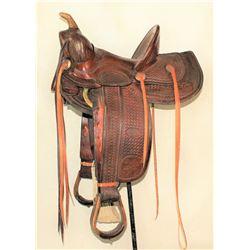 J.H. Wilson Saddle
