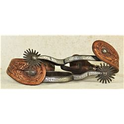 Buerman Inlaid Daisy Spurs