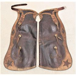 Johnson Trading Co. Studded Chaps