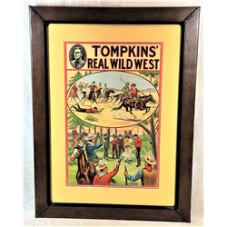 Tomkins Wild West Poster