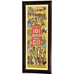 101 Ranch Wild West Poster