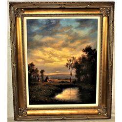 Heinie Hartwig Oil Painting