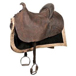 Eagle Pommel Officers Saddle