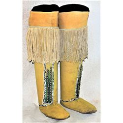 Comanche Knee High Moccasins