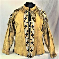 Early Beaded Crow Scout Jacket