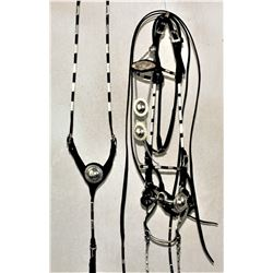 Visalia Silver Bridle and Martingale