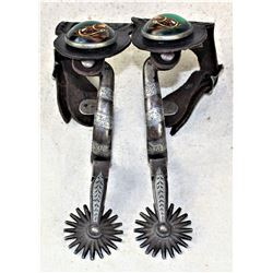 Buerman Inlaid Spurs
