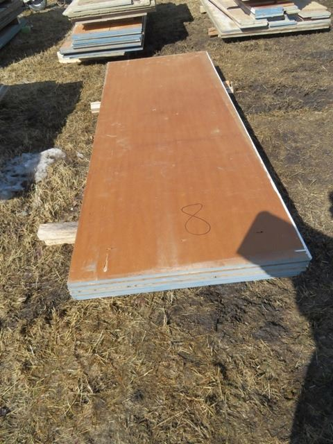 44 - ICF wall braces 9ft tall