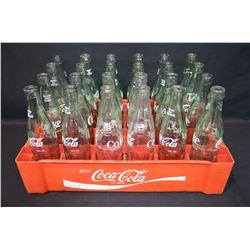 Coca-Cola Bottles and Tray
