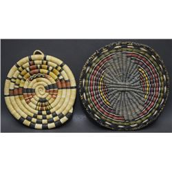 TWO HOPI  BASKETS