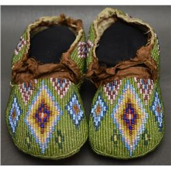 PLAINS CHILD'S MOCCASINS