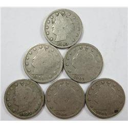 1903 Liberty Head Five Cents