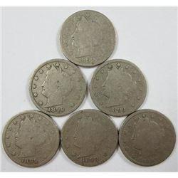 1899 Liberty Head Five Cents
