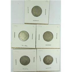 1906-P Liberty Head Nickels