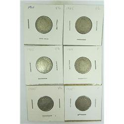 1905-P Liberty Head Nickels