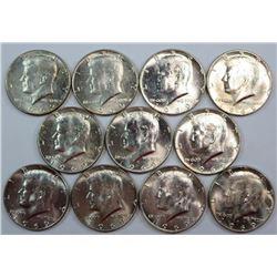1969 Kennedy Half Dollars