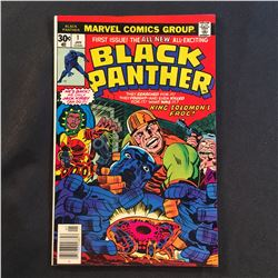 BLACK PANTHER #1 (1977) JACK KIRBY STORY/ART - MID GRADE