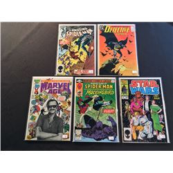 MARVEL & DC 1980'S KEYS X 5 ISSUES ( 1980-88 ) INCLUDES AMAZING SPIDER-MAN #265 ( 1ST APP SILVER