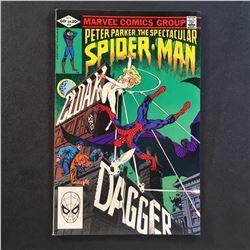 SPECTACULAR SPIDER-MAN #64 (1982) 1ST APP CLOAK & DAGGER - HIGHER GRADE (GLOSSY & SUPPLE)