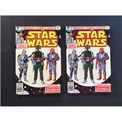 STAR WARS #42 X 2 COPIES (1980) 1ST APP BOBA FETT - ONE IS MID GRADE (SMALL WATER STAIN) ONE IS