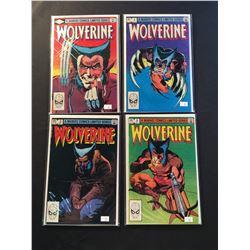 WOLVERINE #1-4 COMPLETE SET (1982) CHRIS CLAREMONT & FRANK MILLER'S INSTANT CLASSIC - HIGHER GRADE