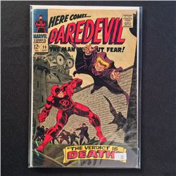 """DAREDEVIL #2,10,14-15 & 23-24 (1964-67) EARLY RUN OF """"THE MAN WITHOUT FEAR!""""  #2 IS LOW GRADE BUT"""