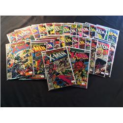 X-MEN #110, 115-116, 118-119, 122-143 (1978-81) 27 ISSUES OF JOHN BYRN'S X-MEN RUN -