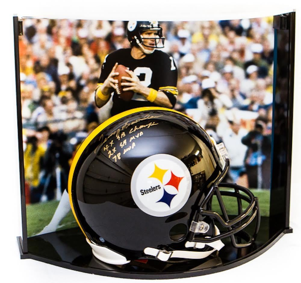 huge discount 17dbd 66422 Terry Bradshaw Signed LE Steelers Full-Size Authentic Pro ...