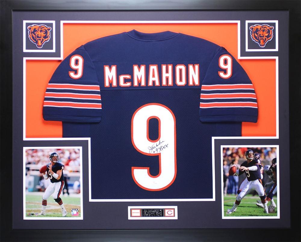 cba522fffac Image 1 : Jim McMahon Signed Bears 35