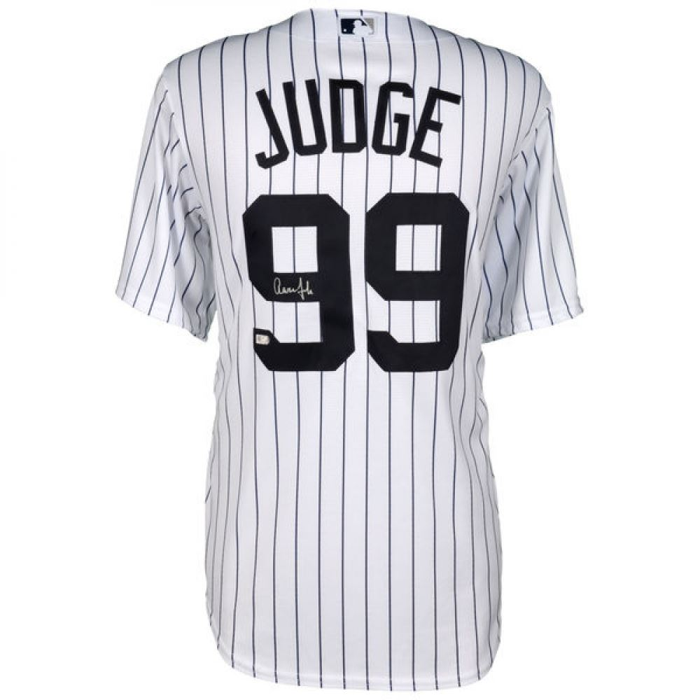 new style 1a8cb 00fcc Aaron Judge Signed Yankees Jersey (Fanatics Hologram)