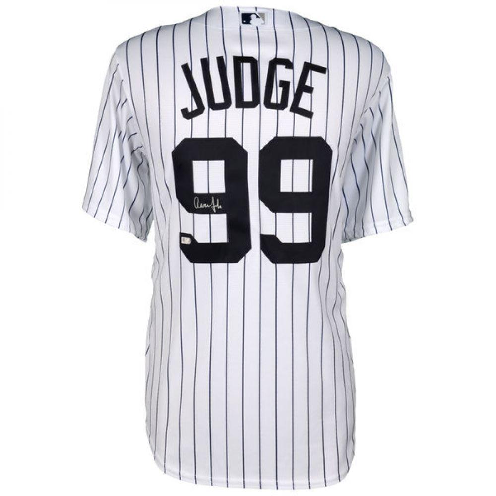 new style 71ff1 e75b6 Aaron Judge Signed Yankees Jersey (Fanatics Hologram)